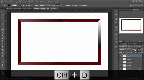 tutorial photoshop frame photoshop hindi tutorial episode 16 photo gallery frame