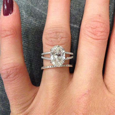 Colorchange Hackmanite 6 30 Ct split band engagement ring with wedding band engagement