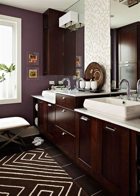 chocolate brown bathroom ideas banyo dolapları dekorasyon