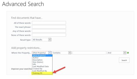 Search Advanced Configuring Advanced Search In Sharepoint 2013 And 2016