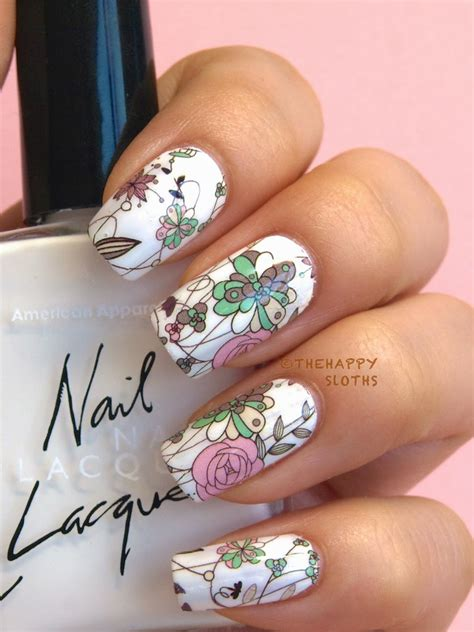 Water Decal Nail Ble2562 Floral Manicure A Comprehensive Guide To Nail Water
