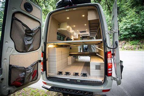 bespoke camping van brings luxury   outdoors curbed