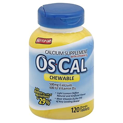 Os Cal buy os cal 120 count chewable calcium supplements in lemon flavor from bed bath beyond