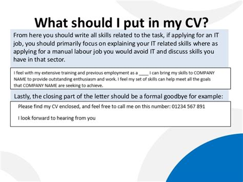 what should i put on a cover letter how to write a cover letter