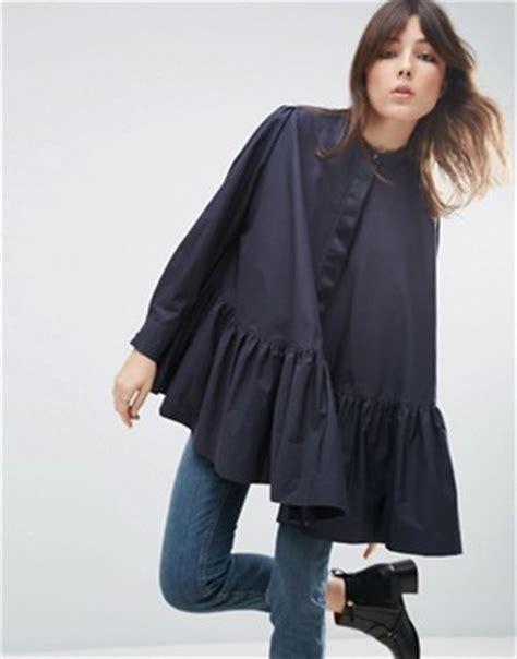 Kemeja Black Misx Stripes White asos white shop asos white for dresses jumpers