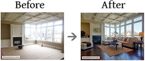 before and after staging home staging in portland oregon room solutions staging