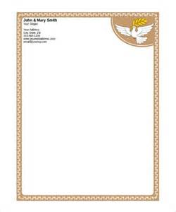 Free Stationery Templates Word by 31 Word Letterhead Templates Free Sles Exles