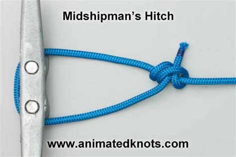 Hitch Knot - midshipman s hitch how to tie a midshipman s taut line