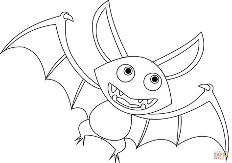 bat coloring pages bat coloring page free printable coloring pages