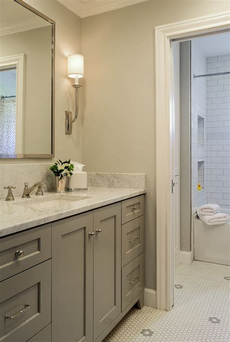 bathrooms with grey walls grey walls and grey cabinets grey bathroom paint color