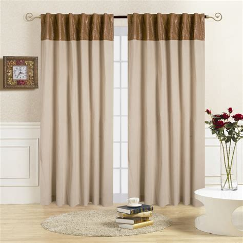 tabbed curtains aliexpress com buy comforhome northfashion window