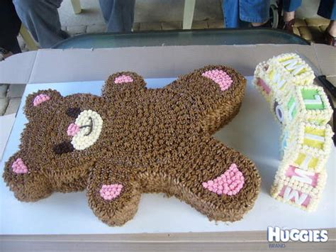 Ted The Teddy Bear   Huggies Birthday Cake Gallery   Huggies