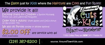 haircut coupons frisco tx sharkey s cuts for kids coupons pinterest kid for