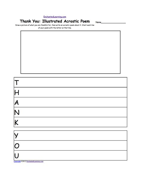 Thank You Note Writing Template Blank Letter Paper For Elementary Students Search Results Calendar 2015