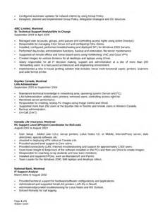 It Systems Administrator Sle Resume by Professional System Administrator Resume Template Page 4