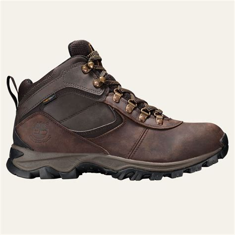 mens timberland hiking boots timberland s mt maddsen mid waterproof hiking boots