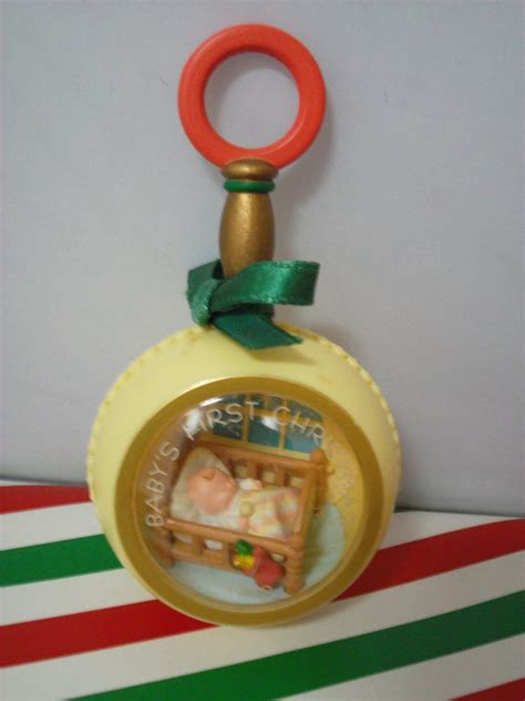 1982 hallmark baby s first christmas ornament