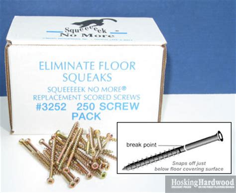 Tools & Accessories: Squeaky Floor Repair   Counter Snap