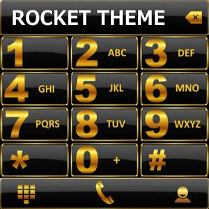 google themes gold theme black gold rocketdial android apps on google play