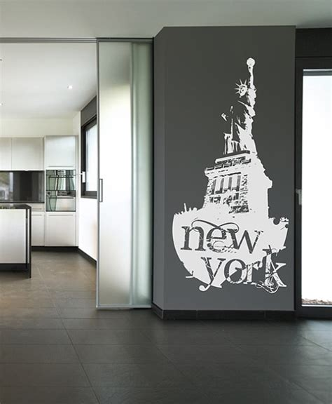the new york statue of liberty wall stickers home