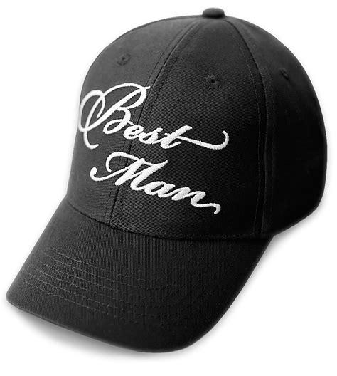 best wedding baseball cap black