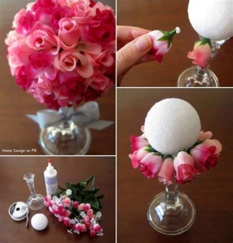 how to make floral arrangements step by step how to make beautiful paper rose flower ball bouquet step