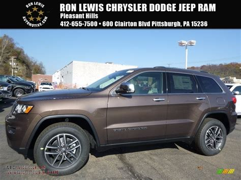 brown jeep grand 2017 2017 jeep grand limited 4x4 in walnut brown