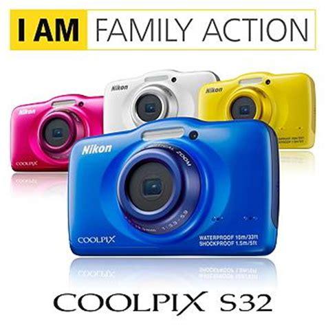 Kamera Nikon S32 nikon coolpix s32 digitalkamera 2 7 zoll blau de