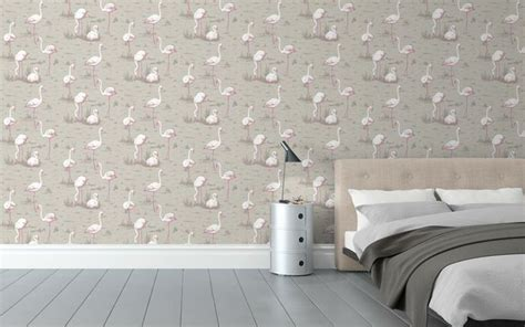 flamingo wallpaper cole and son cole son flamingo wallpaper wallpaper pinterest