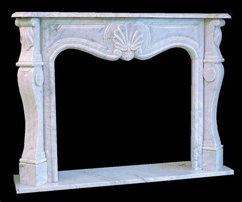 Habillage Cheminee Marbre habillage de chemin 233 e louis xv marbre de carrare