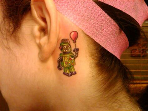 behind the ear tattoo visibility 41 cool behind the ear tattoo designs