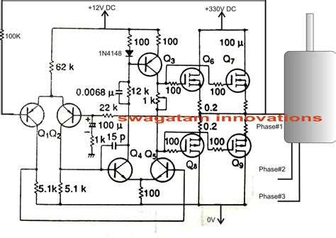 3 phase to single phase wiring diagram single phase to three phase converter circuit circuit