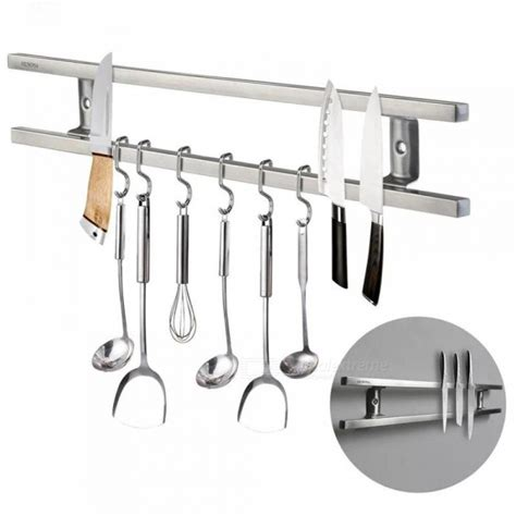 wall mounted kitchen utensil set wall mounted magnetic knife holder bar knife rack