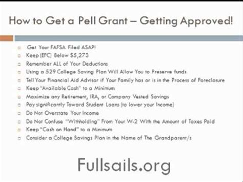 Can You Recieve Pell Grant When Working On Mba by Pell Grant Student Aid Grants That Do Not Require