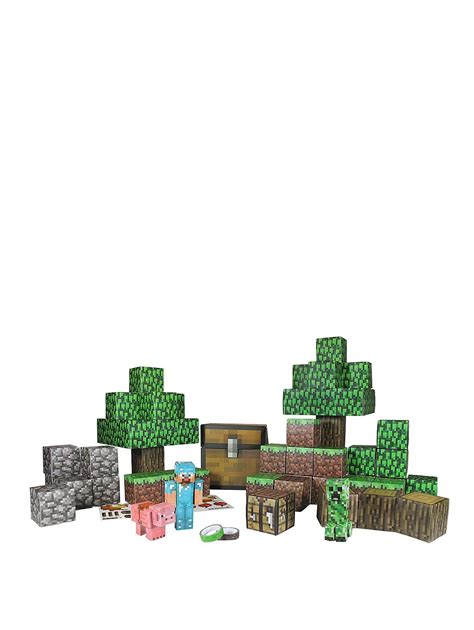 Minecraft Papercraft World - minecraft papercraft world set co uk