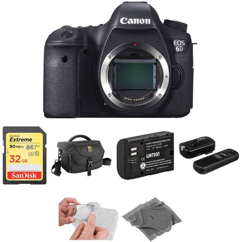 canon eos 6d dslr canon eos 6d dslr basic kit b h photo