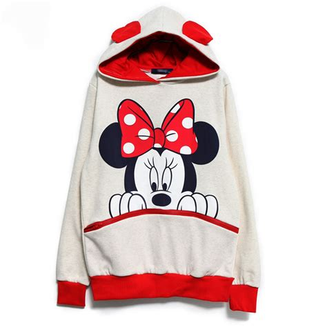 Mickey Top Blouse Xl mickey minnie mouse ear sweater tops shirt jumper