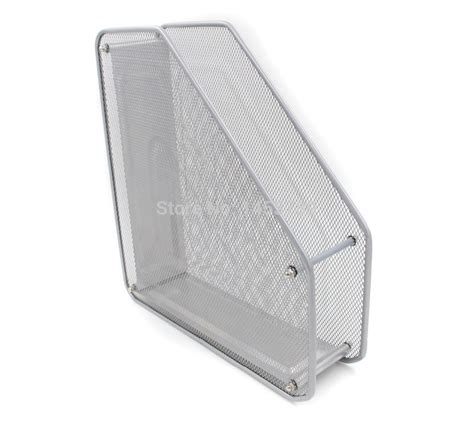 Mesh Desk Organizer Office Paper Holder Supplies With