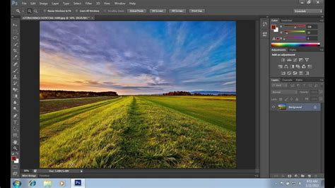 tutorial photoshop cs6 hdr how to make fake hdr effect in photoshop cs6 youtube