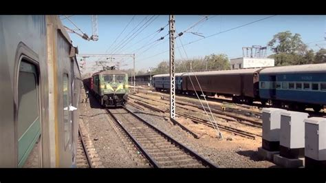 Electric Loco Shed Vadodara by Delightful Captured From Shatabi Express