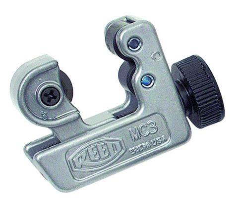 mini cutters mc3 mini tubing cutters reed manufacturing