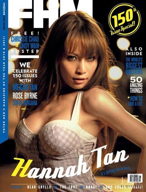 hannah tan malaysia cover of fhm malaysia with hannah tan june 2011 id 23732