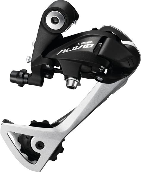 Shimano Adaptor Rear Mtb Black by Derailleur Alivio Rd T4000 Sgsl Without Adapter 9 Gear