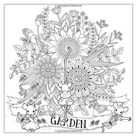 the magical garden creative 1539163423 amazon com the magical garden creative art therapy for adults creative colouring books for