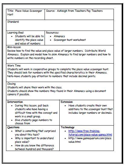 guidance lesson plan template lesson plan template lesson plan template