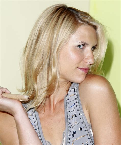 Claire Danes Medium Straight Casual Hairstyle