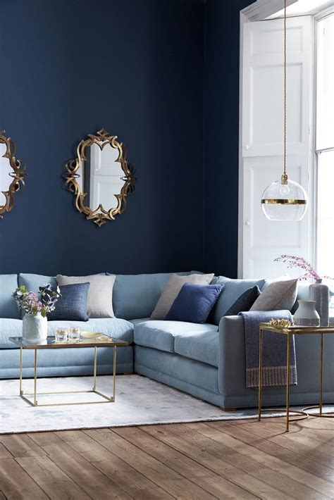 blue couch living room best 25 blue sofas ideas on pinterest light blue