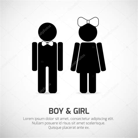 girl and boy bathroom signs boy and girl restroom sign stock vector 169 volha belausava 71367895