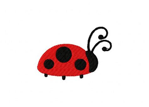 embroidery design ladybug embroidery design small ladybug joyful stitches