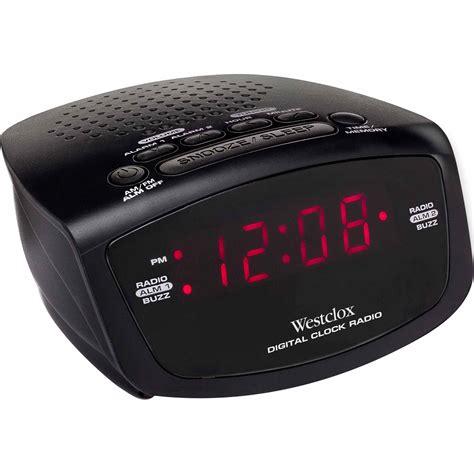 westclox  led clock radio